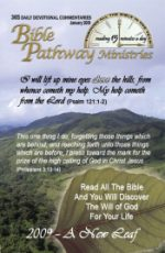 Bible Pathway Devotional Sample Issue