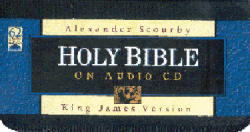 Holy Bible on Audio CD (KJV) -- Narrated by Alexander Scourby