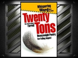 """Twenty Tons"" Book"