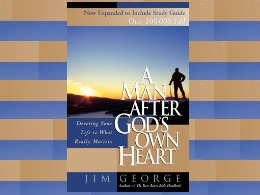 """A Man After God's Own Heart"" Book"