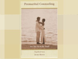 &quot;Premarital Counseling&quot; Hopebook