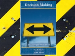 &quot;Decision Making&quot; HopeBook