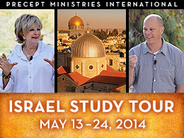 2014 Israel Tour with Kay and David Arthur