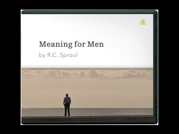 Meaning for Men