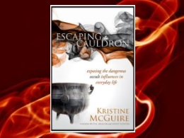 &quot;Escaping the Cauldron&quot; Book
