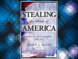 """Stealing the Minds of America"" Book"