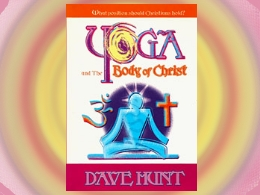 &quot;Yoga and the Body of Christ&quot; Book