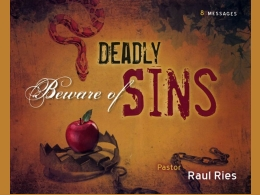 Beware of Deadly Sins CD