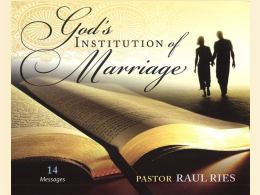 God's Institute of Marriage