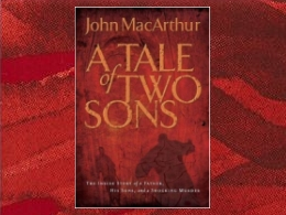 """A Tale of Two Sons"" Book"
