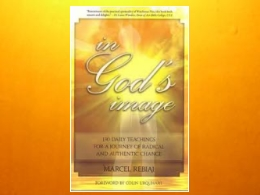 &quot;In Gods Image&quot; Book