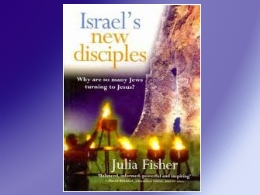 """Israel's New Disciples"" Book"