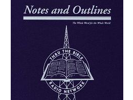 Notes &amp; Outlines