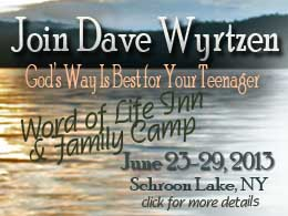 God's Way Is Best For Your Teenager-Dave Wyrtzen