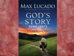 God&#39;s Story