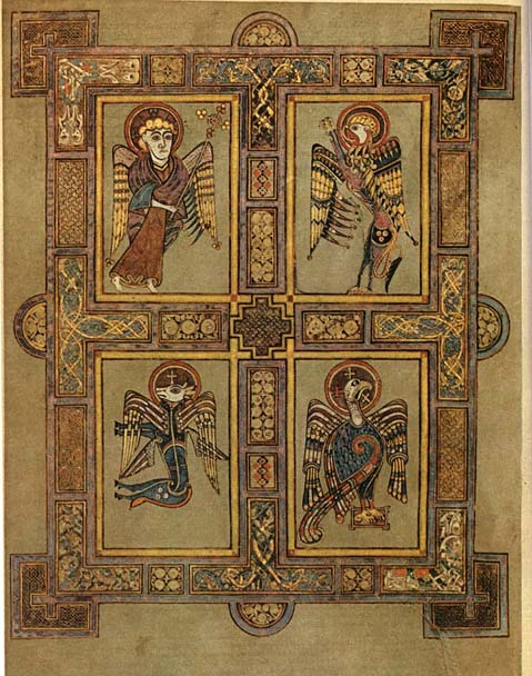 The Book of Kells - The Four Gospels