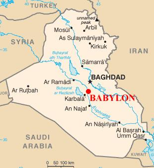 Babylon in Iraq