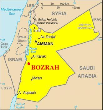Bozrah in Southern Jordan