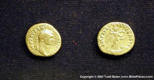 Emperor Domitian Gold Coins