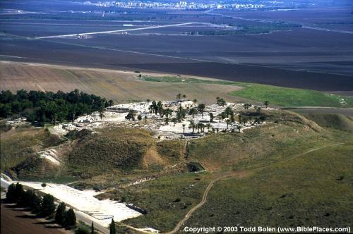 Megiddo From the South