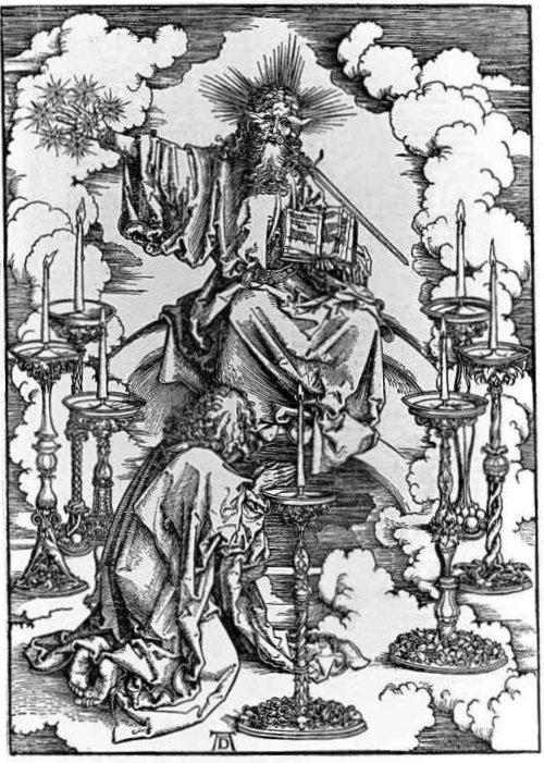 St. John Beholding the Seven Candelabra