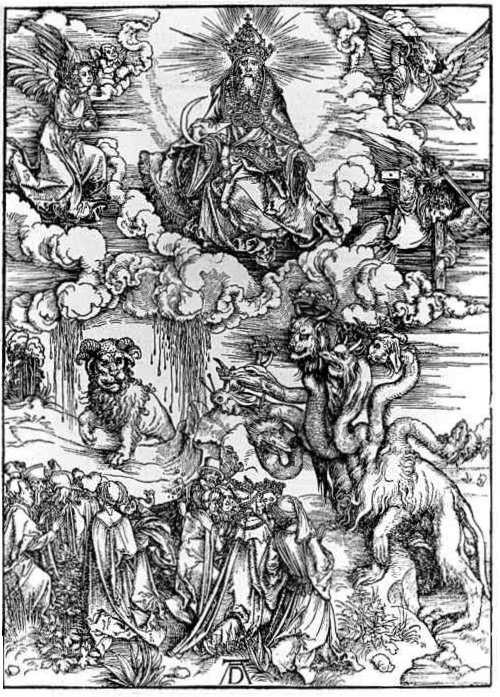 The Seven-Headed Beast and the Beast with Lamb's Horns
