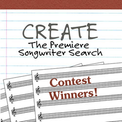 Create 2011 Contest Winners