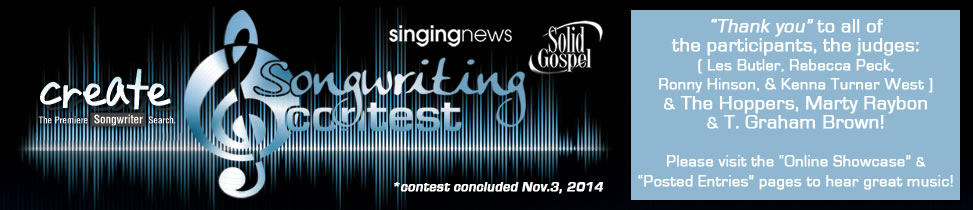 Create Songwriter Contest