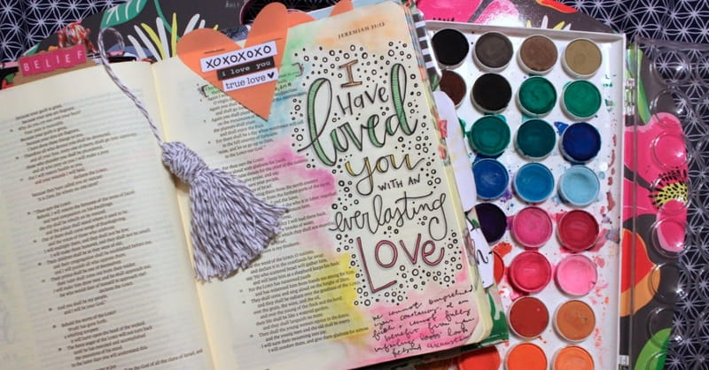Your Bible as a Creative Canvas