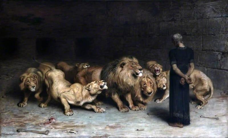 Daniel in the Lion's Den - Bible Story