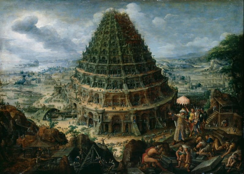 Image result for images for building the tower of babel