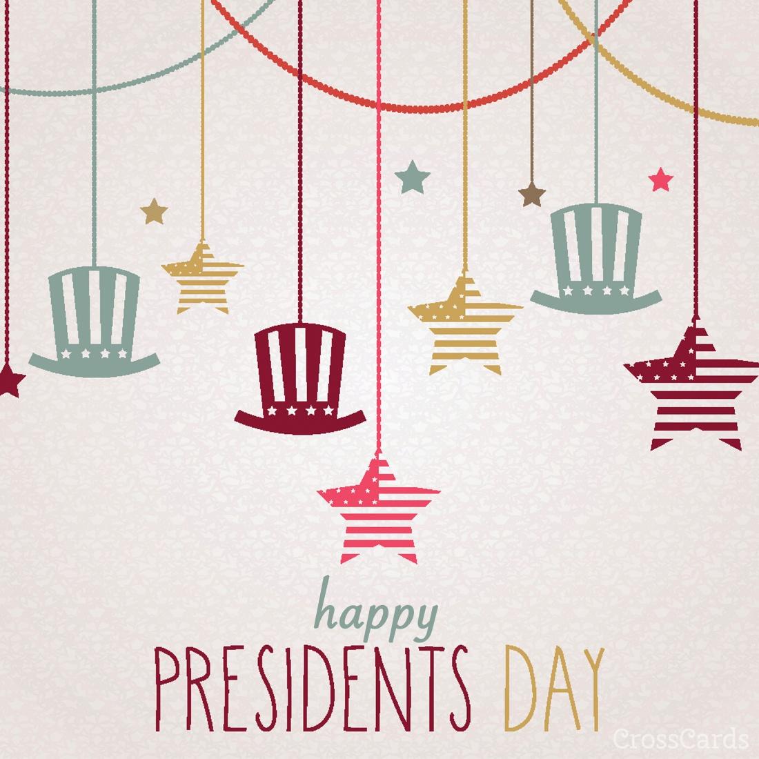 Presidents Day ecard, online card
