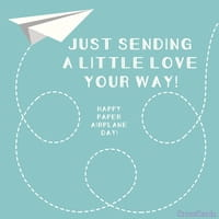 Happy Paper Airplane Day! (5/26)