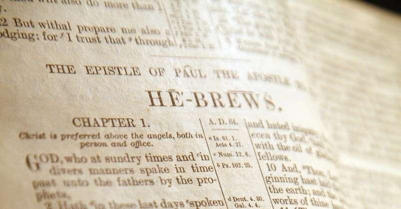 What's the Book of Hebrews All About?