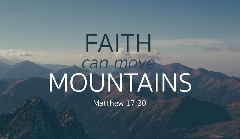 Matthew bible verses about faith