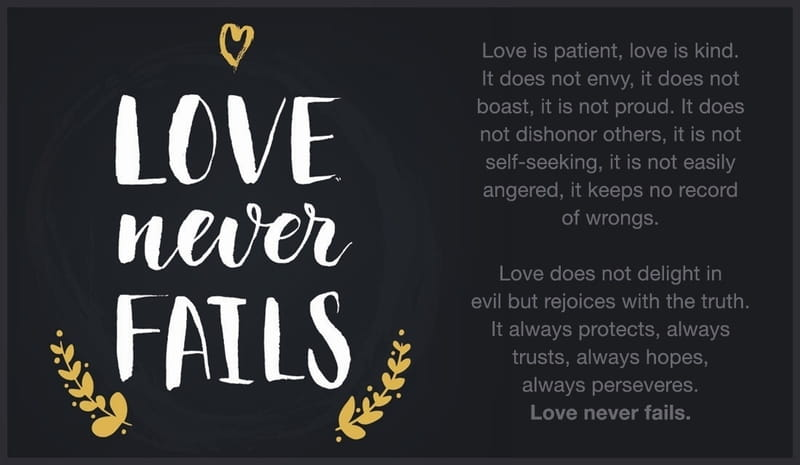 love relationship verses from the bible