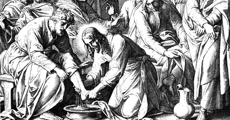 Why Does Jesus Wash His Disciples Feet in John 13?