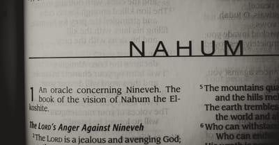 What's the Central Theme of the Book of Nahum?