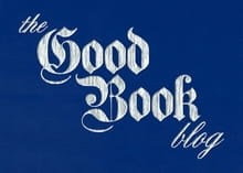 The Good Book Blog