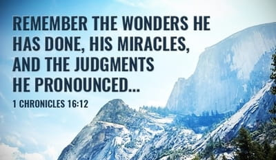 Remember His Wonders
