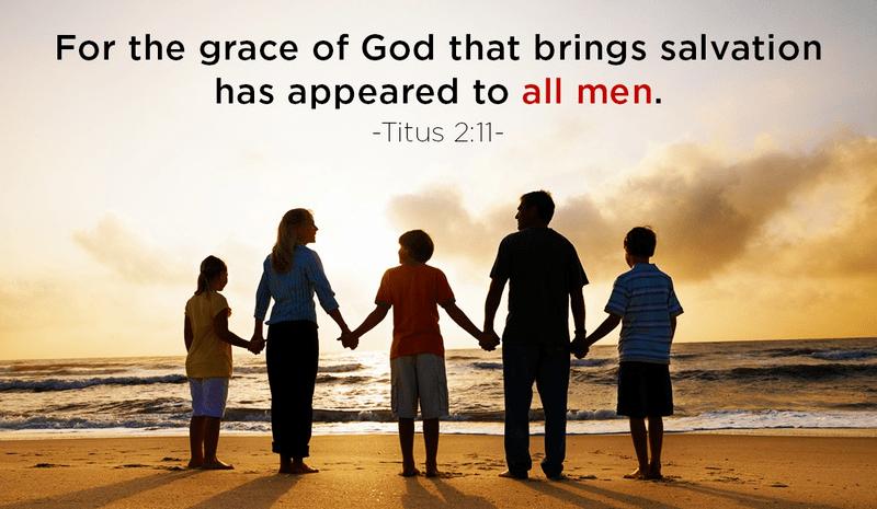 Grace for All Men