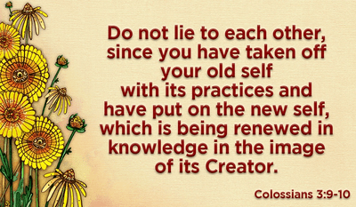 Put on Your New Self