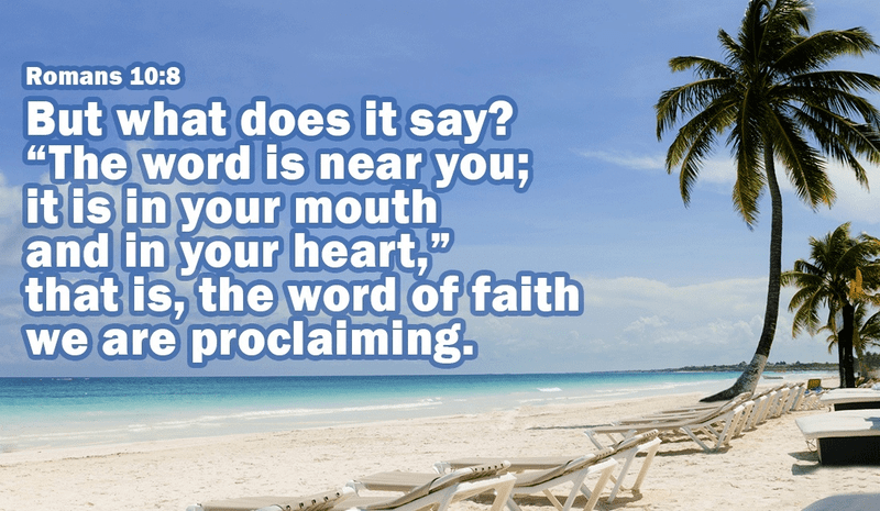 Proclaim the Word of Faith