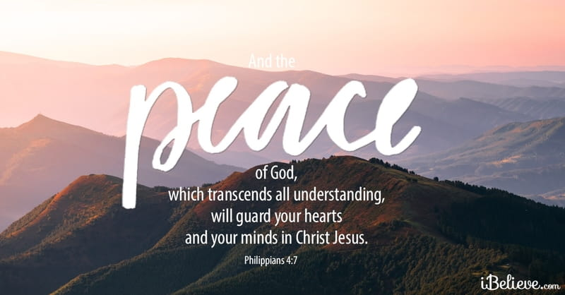 God's Peace will Guard Our Hearts