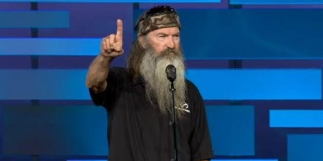 Duck Dynasty's Phil Robertson Suspended for Views on Homosexuality by