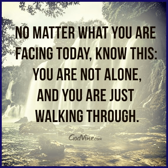No Matter What You are Facing