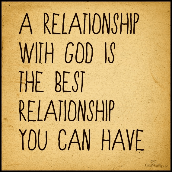 how to develop your relationship with god