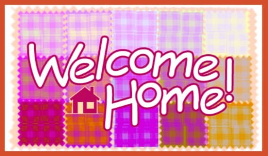 free welcome home ecard email free personalized care