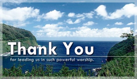 Thank You - Powerful Worship