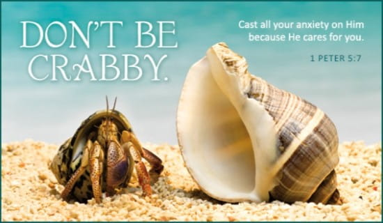 Don't Be Crabby